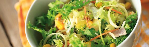Salat mit Tuch - Querformat