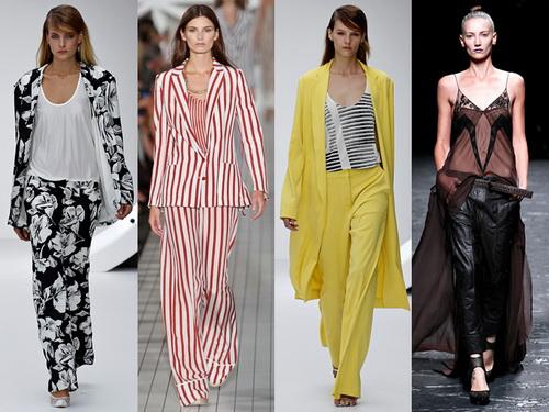 Модные брюки весна-лето 2013